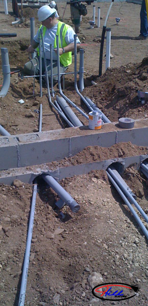Underground Electrical Work